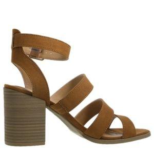 Brash Block Heel Sandals,  size 9, near new!